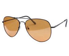 Kontrast- Nachtsichtbrille Sonnenbrille UV-Schutz Autofahrer Brille Braun/Gelb