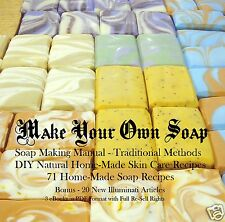 CD - Make Your Own Soap - 3 eBooks+ 20 Articles