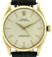 Rolex Oyster Perpetual Datejust  750/18K Gelbgold Automatik Herrenuhr Ref. 6564