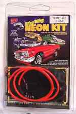 Hoppin Hydros Red Neon Kit 1/24 1/25 Tubing Underglow