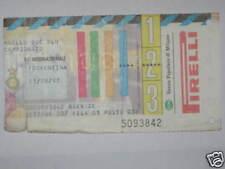 INTER - FIORENTINA BIGLIETTO TICKET 1997/98 SERIE A
