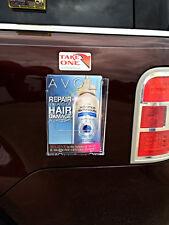 "Magnetic Vehicle Brochure Holder Fits 6"" Wide Bi-Fold for Avon Catalogs"