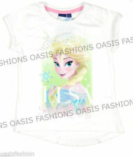 Vêtements blanc Disney manches courtes pour fille de 2 à 16 ans