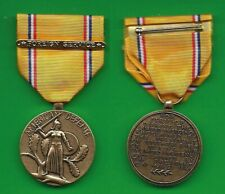 US AMERICAN DEFENSE SERVICE MEDAL w Foreign Service bar