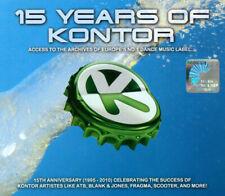 15 Years Of Kontor.....5 cd  BOX.HIT !!!