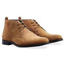Redfoot Mens Derry Premium Suede Desert Boots Size 8/42 NEW* RRP £80 Tan