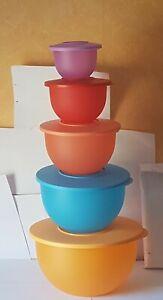 Tupperware Junge Welle Schüssel  550 ml, 1,3 L, 2,5 L, 4,3 L, 7,5 L Neu OVP