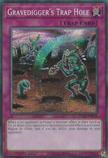 Gravedigger's Trap Hole (ETCO-EN078) - Secret Rare - 1st Edition