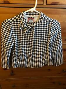 Neuf avec étiquettes GYMBOREE blanc côtelé Tee BASIC T shirt top fille 3,4,5//6,7//8,10//12,14