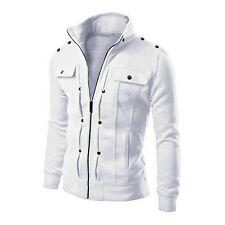 Men's Fashion Slim Winter Coat Jacket Outerwear Overcoat Warm Blazer Casual Tops