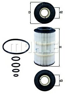 MAHLE Oil Filter For MERCEDES CHRYSLER PUCH Sprinter Viano Vito Mixto 71775180