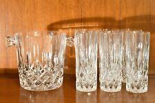 RCR serie OPERA Servizio cristallo da Whisky di 7 Pz: 6 Bicchieri + 1 Secchiello