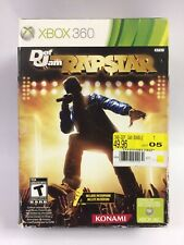 New w/ Damaged Box Def Jam Rapstar Game & Microphone Bundle Xbox 360, See Desc.