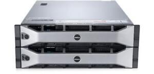 DELL COMPELLENT SC8000 2X E5-2640 CPU 64GB RAM FULLY LOADED R720 R730 iSCSI SAS