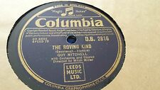 GUY MITCHELL THE ROVING KIND & YOU'RE NOT IN MY ARMS TONIGHT COLUMBIA DB2816