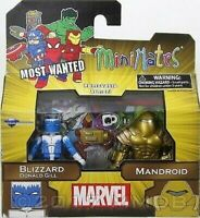 Marvel Action Figure Blizzard Donald Gill & Mandroid Minimates Diamond Select