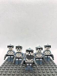 LEGO Star Wars figures Commander Cody Cooliris Ren Amidal Wolfpack Solo I 11//5