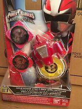 POWER Rangers Ninja ACCIAIO POWER STAR Booster Confezione da 2 CON LANCIATORE DI SERIE 1