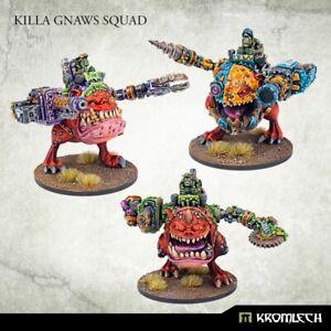 Killa Gnaws Squad x3-Ork Tankbustas Lootaz Squig Rider Gretchin Grot Warbiker