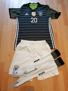 Trikot DFB Deutsche Nationalmannschaft, mit Hose, Stützen, Leroy Sane, Adidas, M