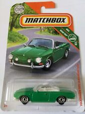 2019 Matchbox Volkswagen Type 34 Karmann Ghia #17/100 [Green] Mbx Road Trip
