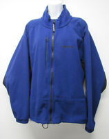 Vtg Marmot Gore WIndstopper Blue Fleece Full Zip Jacket Men's sz XL