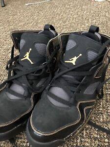 Air Jordan Flight Club '91 Nike Black/Citrus Men's Shoes 555475-032 Size 9
