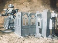 8mm Gothic Church Ruin - Epic Adeptus Titanicus Terrain