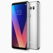 "LG V30 H930 CLOUD SILVER 6.0"" QHD+ OLED FACTORY UNLOCKED  B&O PLAY 64GB 4G LTE"
