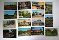 LOT OF 37 PA PENNSYLVANIA VINTAGE POSTCARDS VALLEY FORGE POTTSTOWN BEDFORD ETC