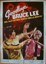 GOODBYE BRUCE LEE HIS LAST GAME OF DEATH Italian 2F movie poster 39x55 1975