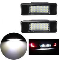 2x LED Feux Éclairage Plaque pour Peugeot 106 207 307 406 407 Citroen C2 C3 C5