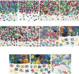 Multicolour Birthday Party Table Confetti Sprinkles Decorations Cards Crafts