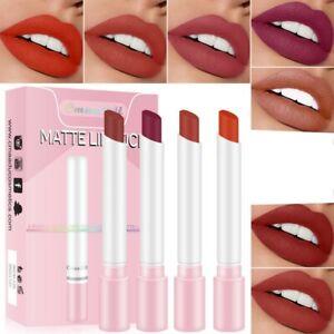 CmaaDu Lipstick Velvet Matte Lip Gloss Cosmetic Lightweight Long Lasting Makeup