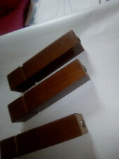 Vintage Ottoman Solid Wood Legs x4 ( screw on to attach) Very good Condition