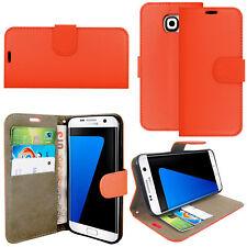 Nueva Cartera Flip Cuero Sintético Carcasa Protectora De Teléfono Para Samsung Galaxy S3/S3 Mini, S4, S5,