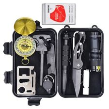 Eachway Professional 10 in 1 Emergency Survival Gear Kit Outdoor Survival... New