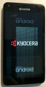 Kyocera Hydro VIEW (Boost) 8GB C6742 Black Very Good Used Locked Parts Repair