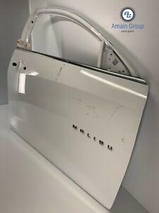 2016-2018 CHEVROLET MALIBU FRONT PASSENGER SIDE EXTERIOR DOOR SHELL PANEL OEM