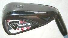 Ladies Callaway RAZR X Black 6 iron with Callaway 50g Woman's flex shaft