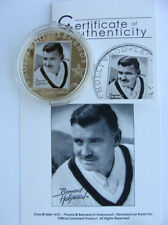 COOK ISLANDS 2010 HOLLYWOOD LEGENDS SERIES $5 SILVER COIN CLARK GABLE