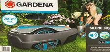 Gardena Mähroboter Sileno City 250, Akku Rasenmäher, robotic lawnmower, 15001-20