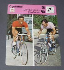FICHE CYCLISME 1976 DE VLAEMINCK DE MUYNCK GIRO WIELRIJDER CICLISMO