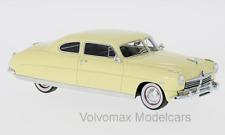 wonderful modelcar HUDSON COMMODORE COUPE 1948 - lightbeige - 1/43 - lim.ed.