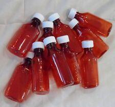 10 LOT Prescription Medicine Plastic Storage Bottles/Caps 4 OZ Size-BRAND NEW