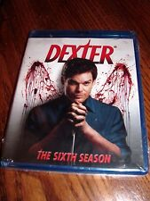 Dexter: The Sixth [6] Season (Blu-ray Disc,2012,3-Disc Set) Brand New, Fast Ship