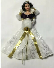 """Disney Collector 12"""" Snow White Holiday Princess Doll 1998 !!"""