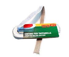 Cintino cinta cinghia per tapparella finestra 5mt corda avvolgibile c/istruzioni