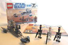 Lego Star War #8015 Assassin Droids Battle Pack 94 pcs, ages 6-12, 100% complete