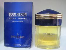 BOUCHERON POUR HOMME BY BOUCHERON 3.3/3.4 OZ EDT SPRAY ORIGINAL RARE/DENTS
